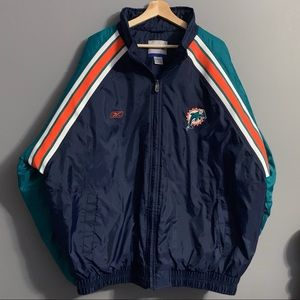 Reebok Miami Dolphins Mens Jacket